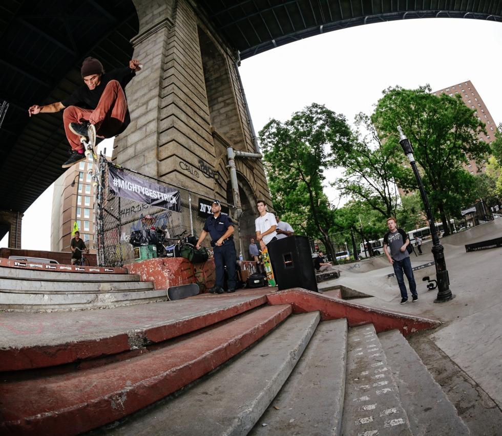 #MIGHTYBESTTRICK Contest @ LES Skatepark