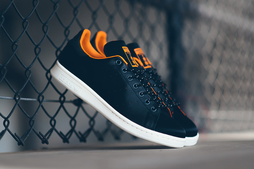 "Porter x adidas Stan Smith ""80th Anniversary"" Black/Orange"