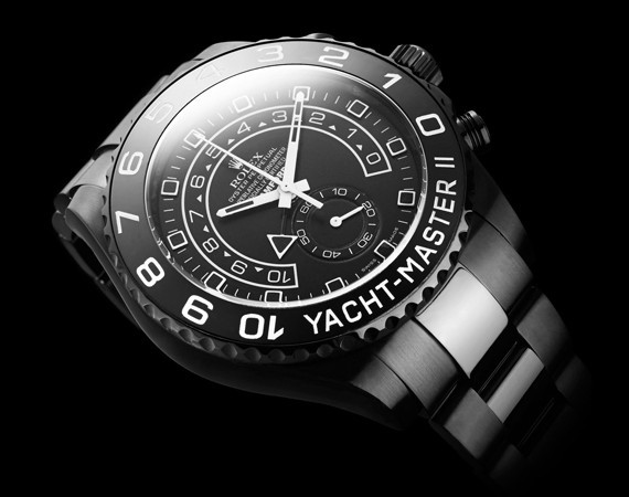 "BAMFORD WATCH DEPARTMENT UNVEILS THE ROLEX YACHTMASTER II ""STEALTH GHOST"""