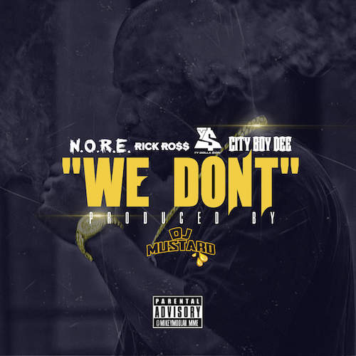 N.O.R.E. ft. Rick Ross, Ty Dolla $ign & City Boy Dee – We Don't