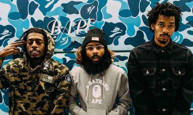 Flatbush Zombies in The Smokebox with B-Real