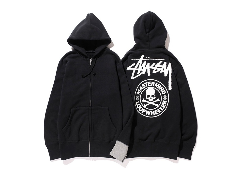 MASTERMIND JAPAN X LOOPWHEELER X STUSSY DELIVER 35TH ANNIVERSARY APPAREL