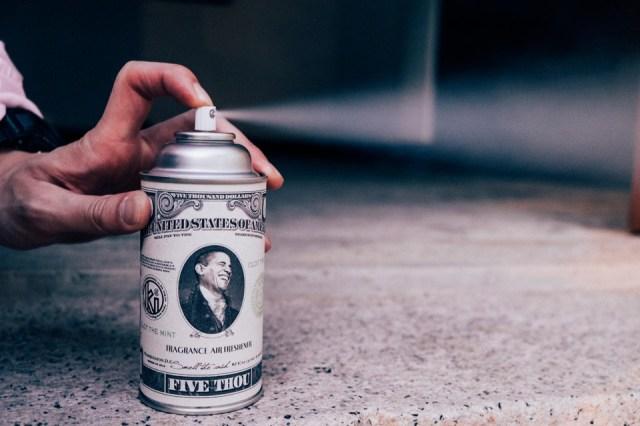 CLOT and Kuumba Release Spraycan-Shaped Room Fragrances
