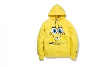 AAPE by A BATHING APE x SpongeBob Capsule Collection
