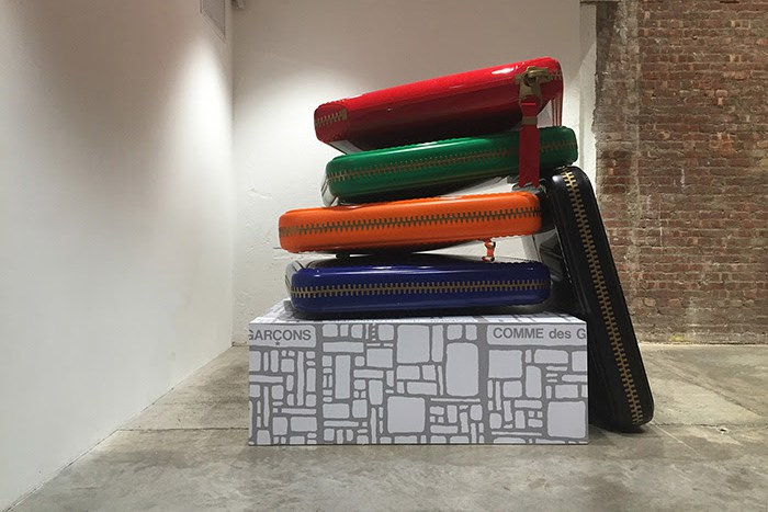 Giant COMME des GARÇONS Wallets at Dover Street Market New York