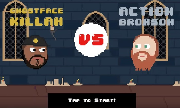 Ghostface Killah vs. Action Bronson: The Game
