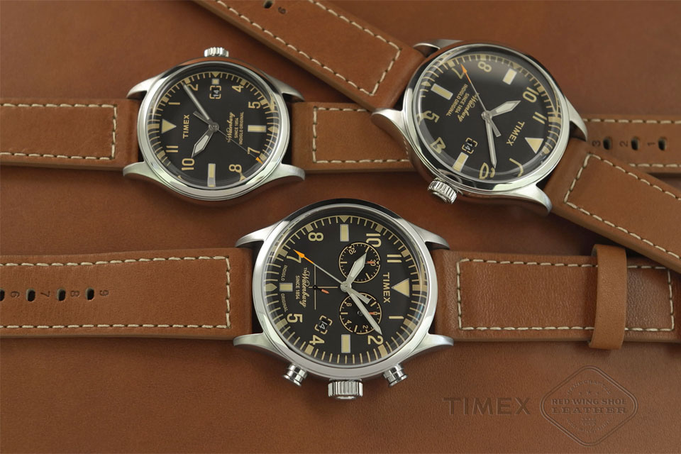 """Timex and Red Wing Shoes Unveil """"Waterbury"""" Watches"""