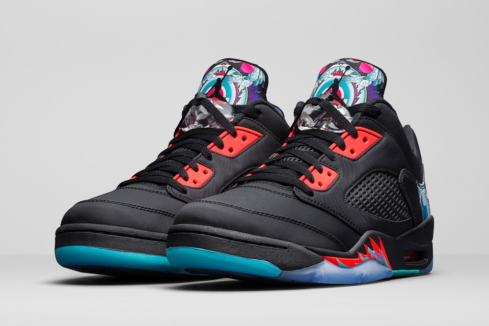 Air jordan 5 chinese new yearthedropnyc