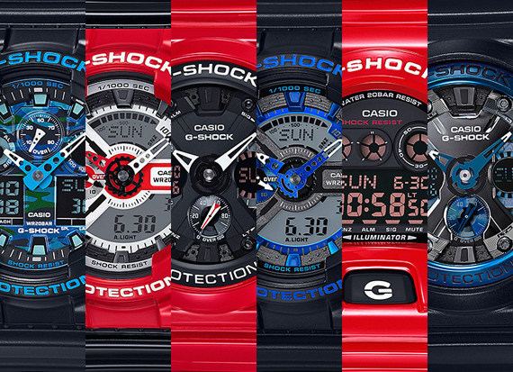 CASIO G-SHOCK UNVEILS JANUARY 2016 RELEASES