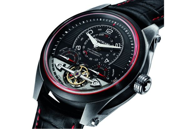 LIMITED EDITION MONTBLANC TIMEWALKER EXOTOURBILLON MINUTE CHRONOGRAPH