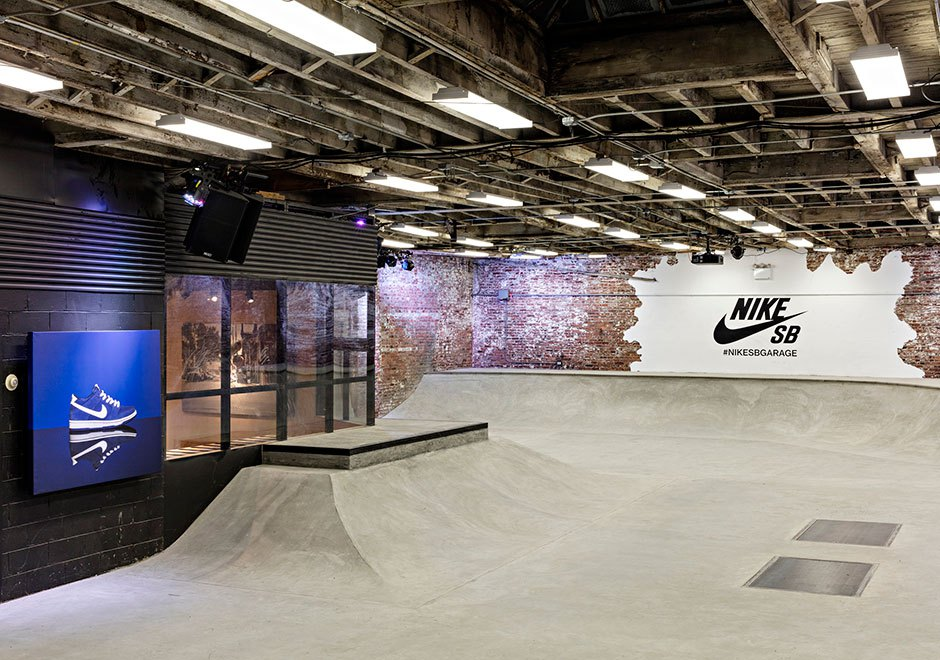Nike Skateboarding Unveils Indoor Skate Park in Williamsburg