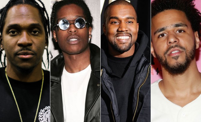 "Pusha T featuring Kanye West, A$AP Rocky & The-Dream ""M.P.A."""