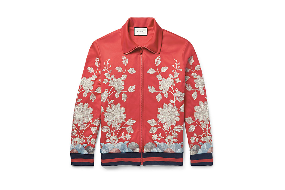 New Gucci Tech-Jersey Jacket for Spring 2016