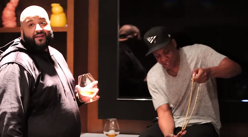 Jay Z Gives DJ Khaled the Last Roc-A-Fella Chain
