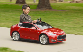 RADIO FLYER INTRODUCES A TESLA MODEL S FOR KIDS