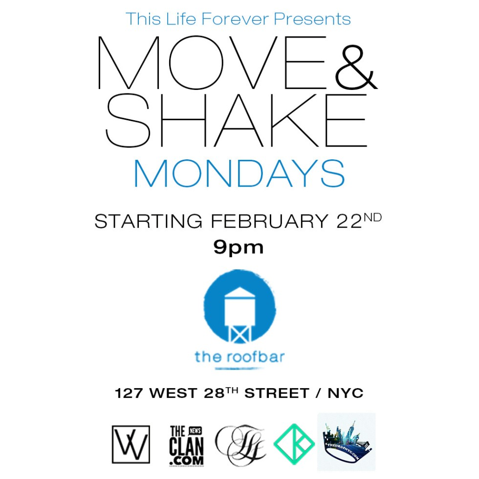 KeyFlow, This Life Forever Inc. presents Move and Shake Mondays at Hotel Indigo
