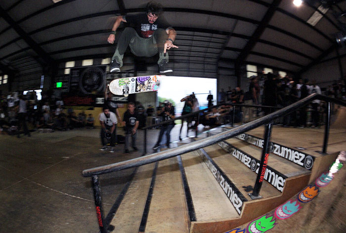 Behind the Scenes With Nyjah Huston and Chris Cole at Tampa Pro