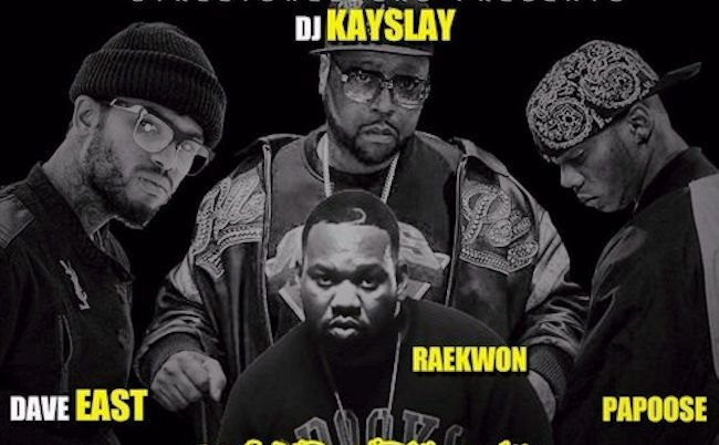 DJ Kay Slay ft. Dave East, Raekwon & Papoose – Microphone Murderers