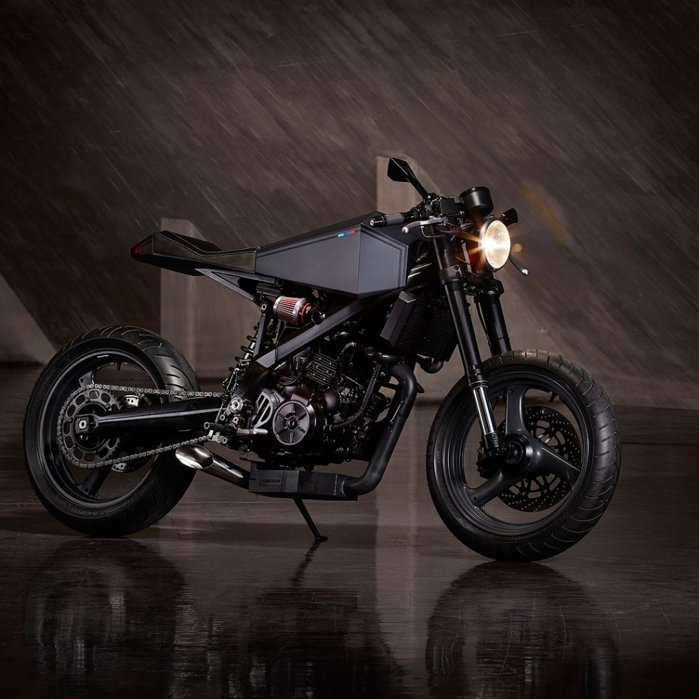 Hyde Octavia BMW X Challenge Motorcycle