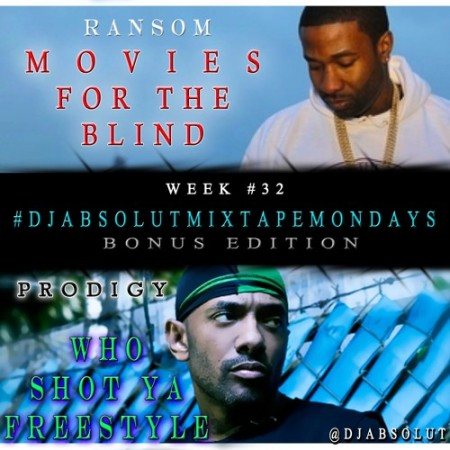 Prodigy & Ransom – Who Shot Ya Freestyle & Movies For The Blind