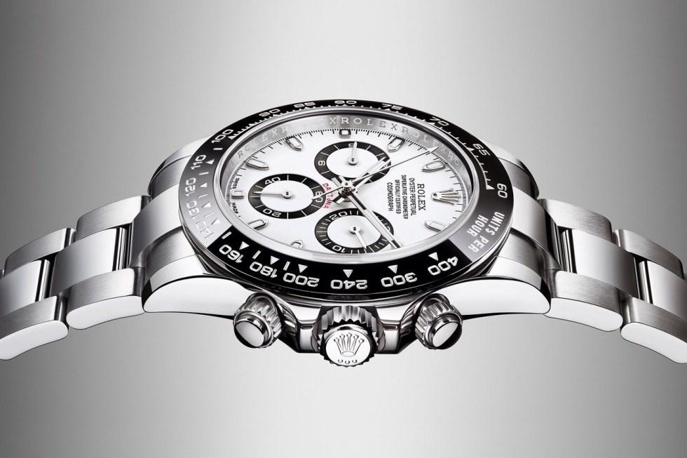 Rolex New Steel Daytona With a Black Cerachrom Bezel