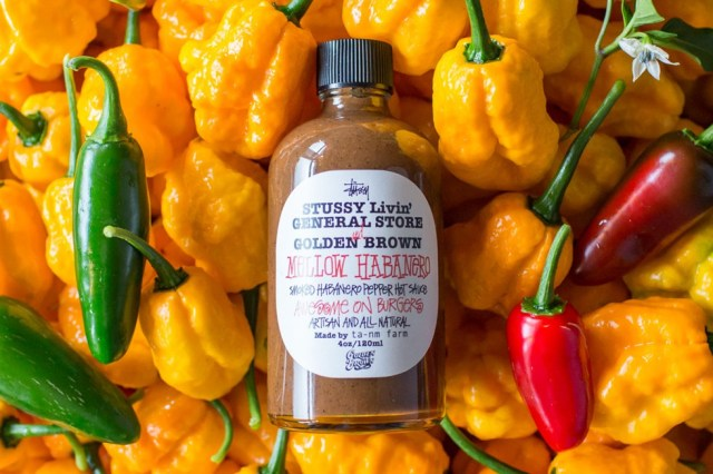 Stussy Releases Its Own Habanero Sauce