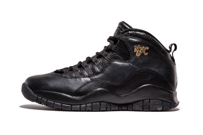 "Jordan Brand's ""City Pack"" Rolls On With the Air Jordan 10 ""NYC"""