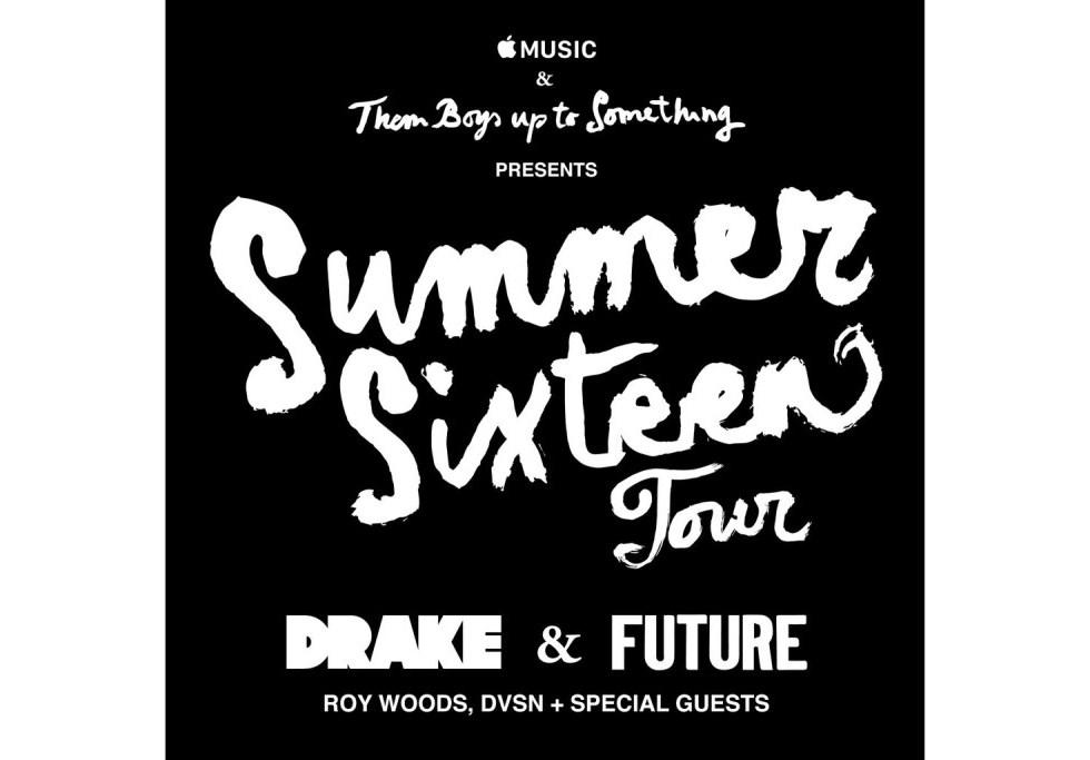 Drake & Future's 'Summer Sixteen' Tour Dates