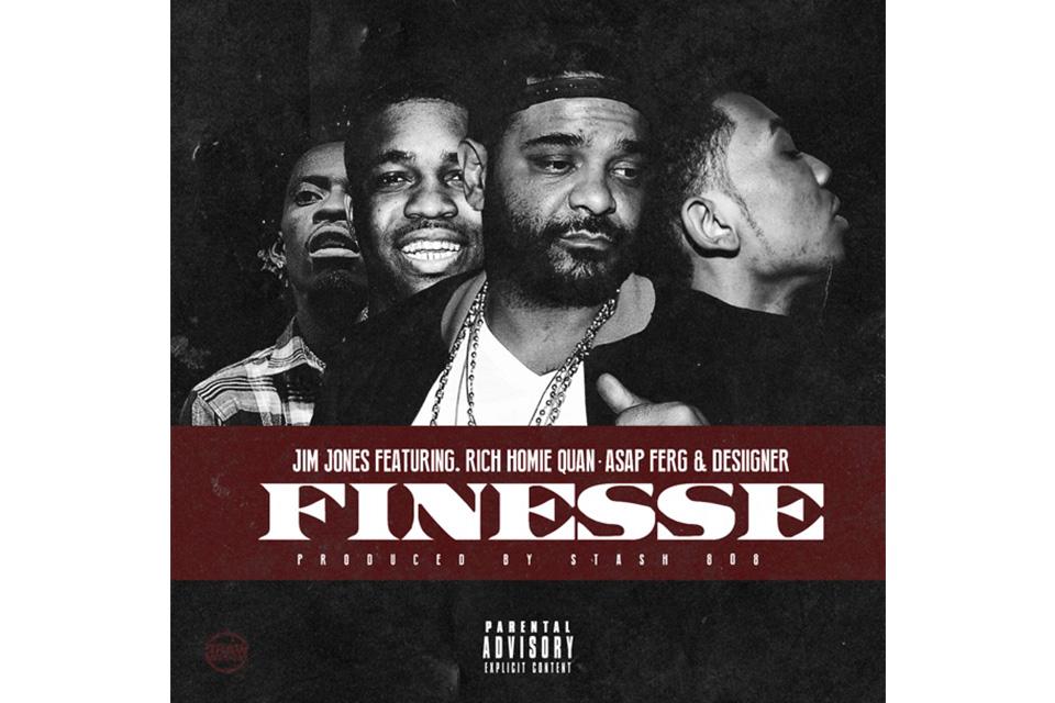 """Jim Jones, Rich Homie Quan, A$AP Ferg & Desiigner """"Finesse"""""""