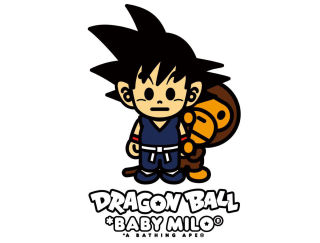 A BATHING APE x DRAGON BALL COLLABORATION