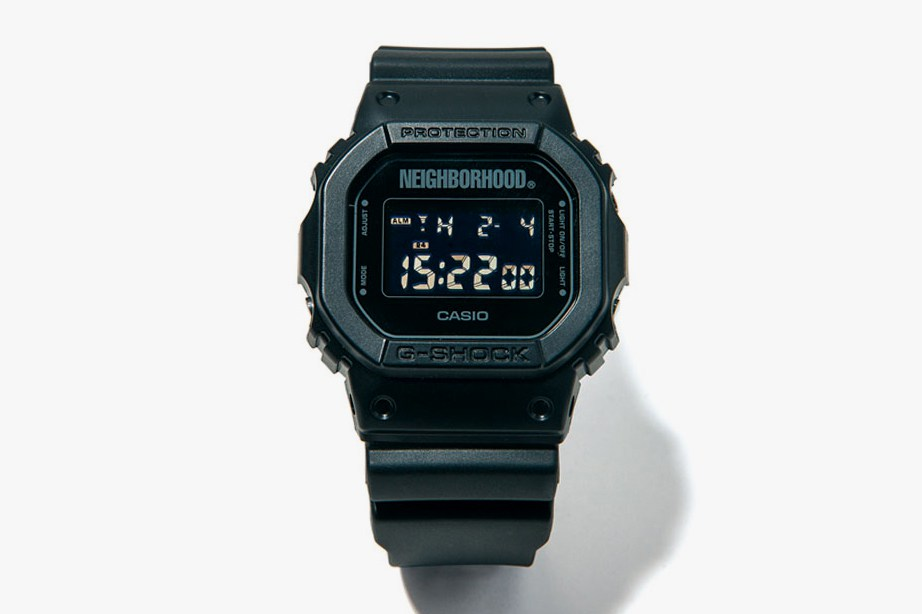 NEIGHBORHOOD x G-SHOCK DW-5600