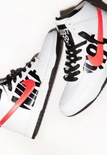 Undefeated & NikeLab Dunk High Lux Release