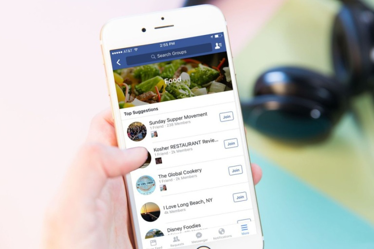 Facebook Rolls out New Discover Tool for Finding Groups
