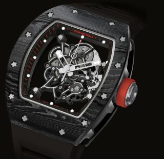 RICHARD MILLE REVEAL TWO LIMITED EDITION RM055 BUBBA WATSON WATCHES