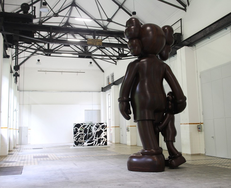 KAWS Launches New Large-scale Wooden Sculptures for Art Basel 2016