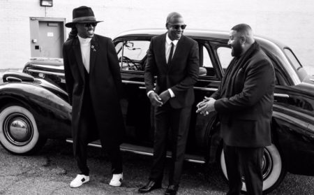 "DJ Khaled, Jay Z & Future Shoot the ""I Got The Keys"" Video"