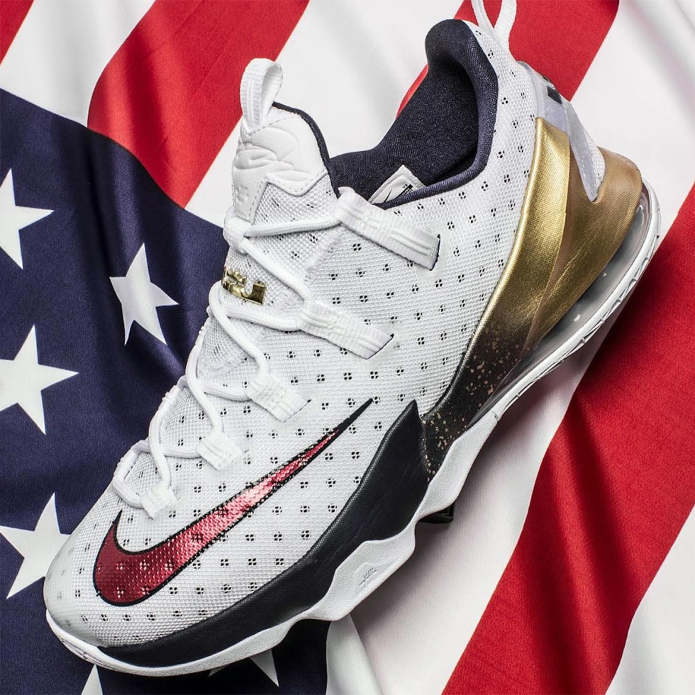 THE LEBRON 13 LOW FOR 2016 OLYMPICS