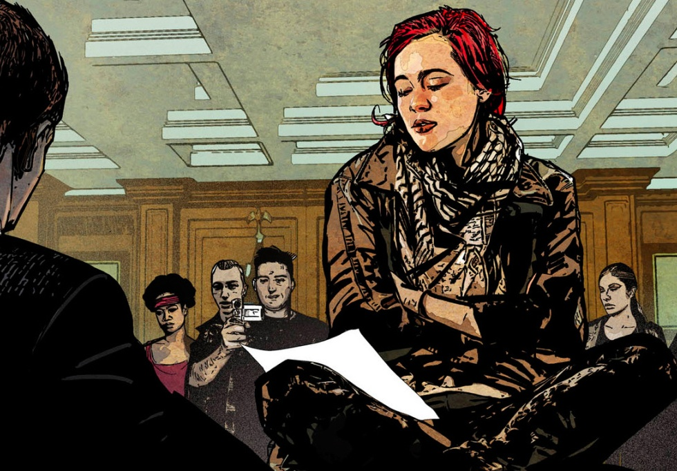 Marvel's Young Rebel 'Scarlet' Makes Her Way to HBO