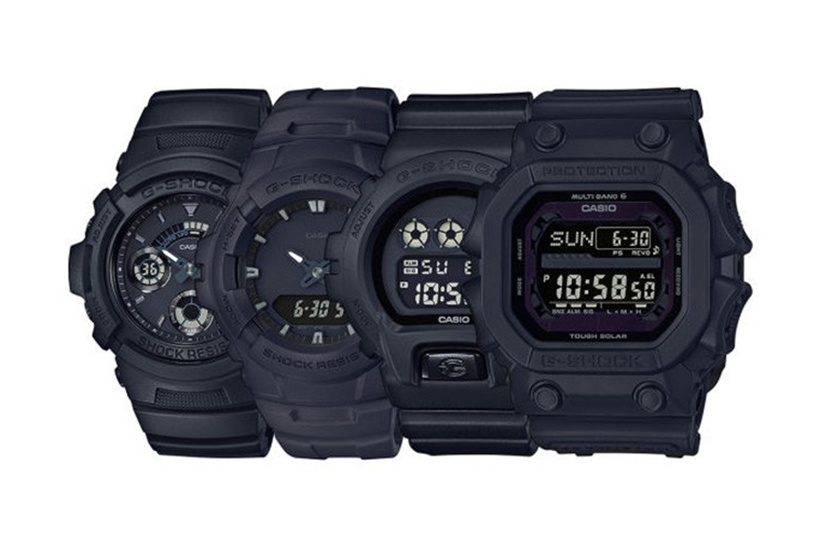 G-SHOCK Japan - Deadly Matte Black Watches