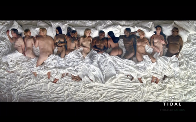 "Kanye West's ""Famous"" Music Video Gets a SFW Parody"