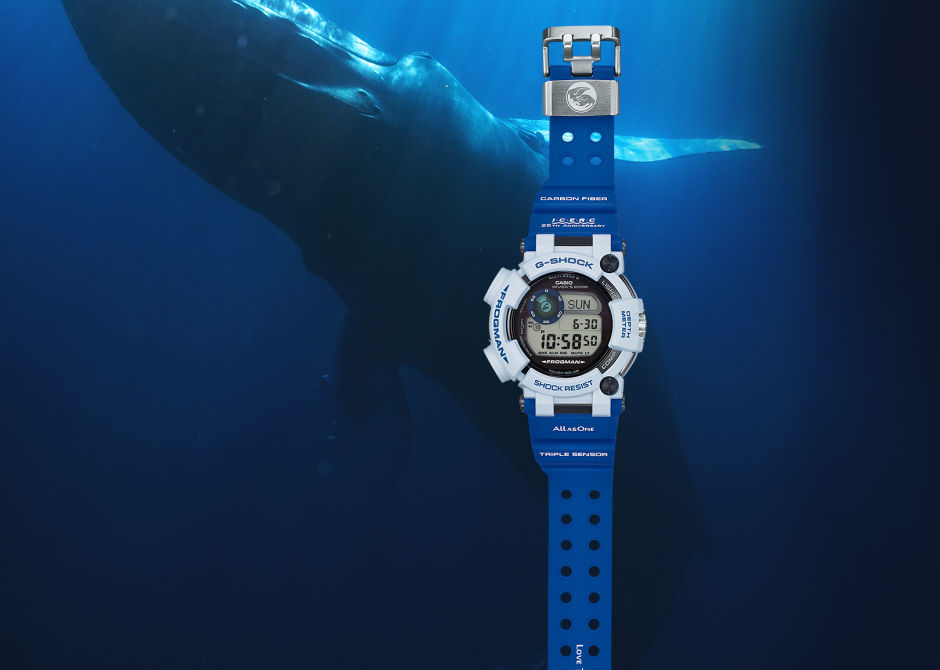 "G-SHOCK PRESENTS THE GWF-D1000K-7JR FROGMAN ""LOVE THE SEA AND THE EARTH"""