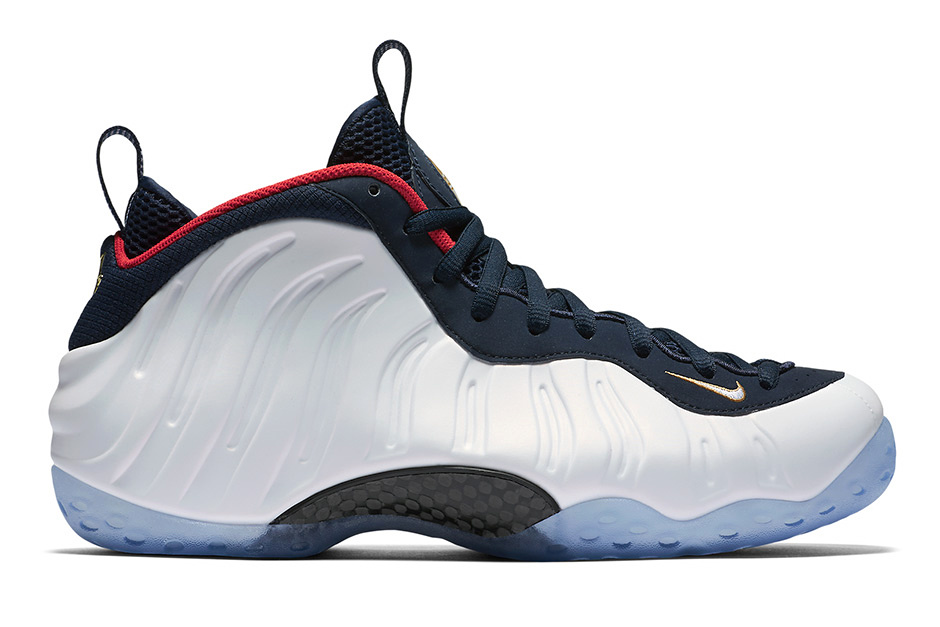 "The Nike Air Foamposite One ""Olympic"""