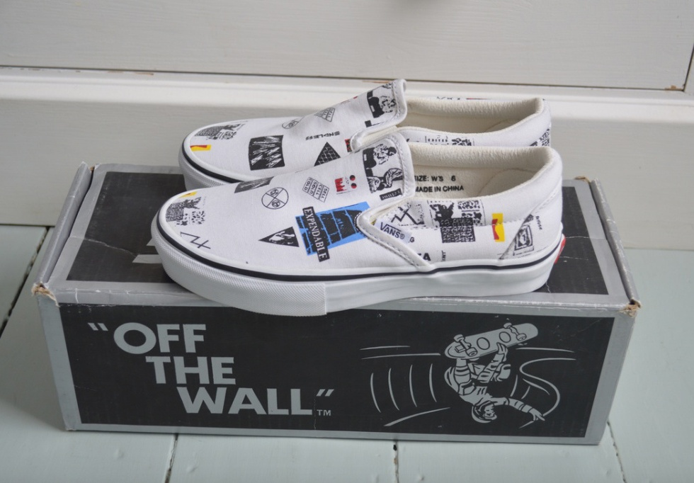 Ultra-Rare Raf Simons x colette meets x COMME des GARÇONS x Vans Slip-Ons Are up for Grabs