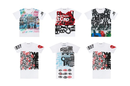 "COMME des GARÇONS Releases a Bundle of Artfully-Designed ""Collage"" T-Shirts"
