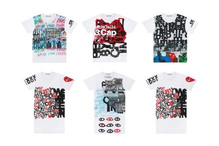 "COMME des GARÇONS Releases a Bundle of Artfully-Designed ""Collage"" T-Shirts"