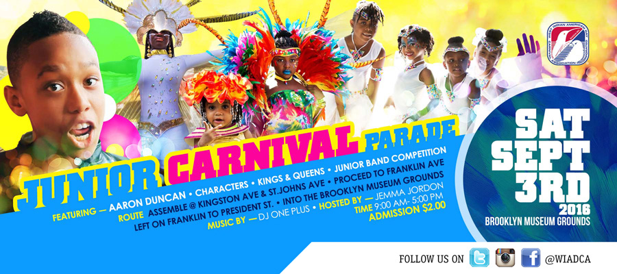 NEW YORK CARIBBEAN CARNIVAL WEEK 2016 - Junior Carnival Parade