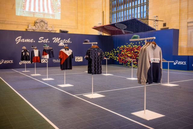 "AN INSIDE LOOK AT PACKER SHOES' ""GAME. SET. MATCH."" POP-UP AT GRAND CENTRAL TERMINAL"