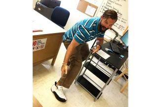 A High School Teacher Got the Air Jordan Surprise of a Lifetime