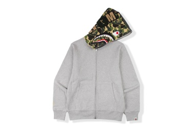 BAPE x Flat Hat Club New Shark Hoodie