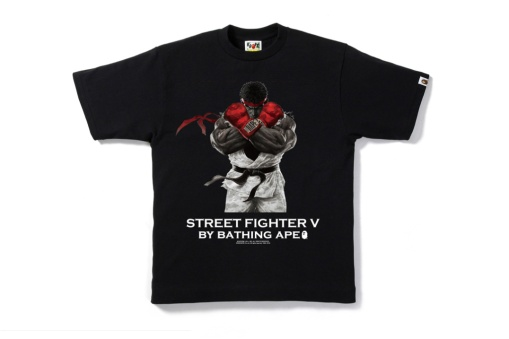 A Bathing Ape Releases a 'Street Fighter' Collection